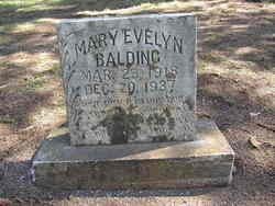 Mary Evelyn Balding
