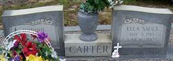 Ella <i>Sauls</i> Carter