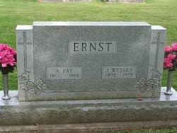 Anna Fay <i>Harshman</i> Ernst