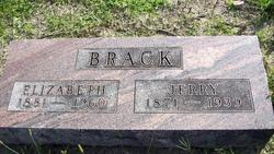Elizabeth <i>Whisler</i> Brack