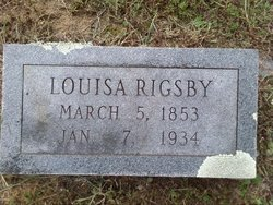 Louisa Rigsby