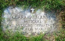 Clark August Maness