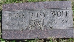 Cpl Frank Bitsy Wolf