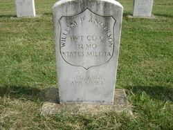 Pvt William P. Anderson