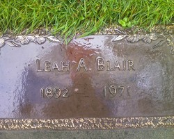 Leah Alice <i>Bullard</i> Blair