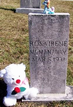 Rosa Irene McManaway