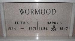 Harry Gilbert Wormood