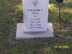 PFC William E Agee