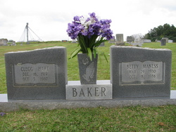 Betty Lou <i>Maness</i> Baker