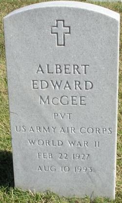 Albert Pat Edward McGee