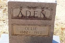 Ollie Dora <i>Capers</i> Aden