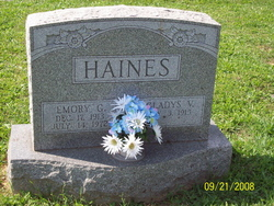 Emory G Haines