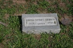 Edith <i>Stines - Nimmo</i> Heiden
