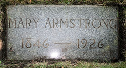 Mary A <i>Pearsall</i> Armstrong