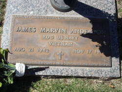 James Marvin Anderson