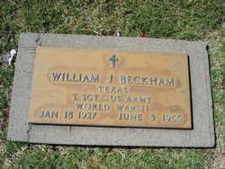 William J Beckham