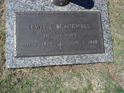 Lewis L Blackwell