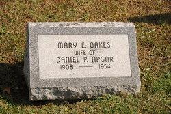 Mary E <i>Oakes</i> Apgar