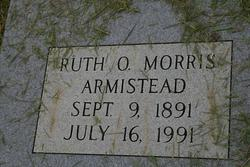 Ruth Olive Ruby <i>Morris</i> Armistead