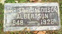 Christie <i>Jacobson</i> Albertson
