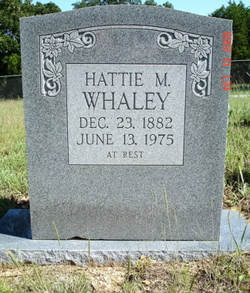 Hattie Mabel <i>Wood</i> Whaley