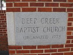Deep Creek Baptist Church Cemetery