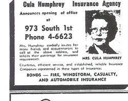 Cula Ann <i>Boyd</i> Humphrey