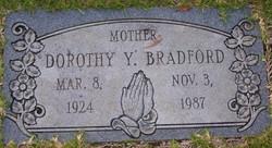 Dorothy Yvonne Bradford