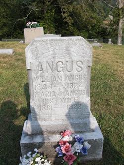 Maria Jennie <i>Barnhart</i> Angus