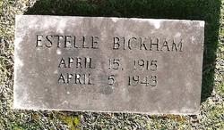 Audrey Estelle <i>Capps</i> Bickham