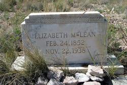 Elizabeth <i>Bartle</i> McLean