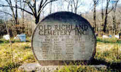 Old Richland Cemetery