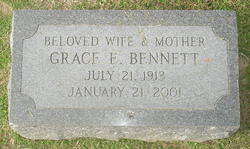 Grace <i>Edwards</i> Bennett
