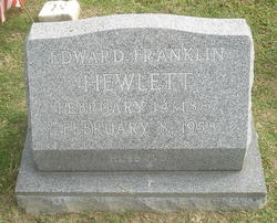 Edward Franklin Hewlett, Sr