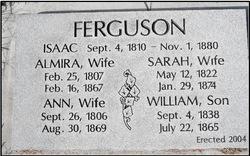 Sarah <i>Greene</i> Ferguson