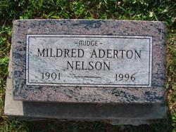 Mildred Midge <i>Aderton</i> Nelson