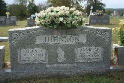 Annie <i>McChristian</i> Johnson
