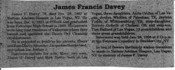James F Davey