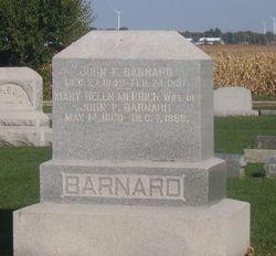 Mary Helen <i>Merrick</i> Barnard