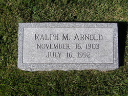 Ralph Madison Arnold