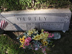 Barbara M Oertly