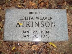 Lolita <i>Weaver</i> Atkinson