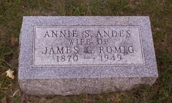 Annie S. <i>Andes</i> Romig