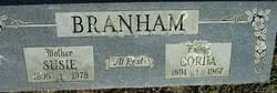 Susie Mae <i>Tedford</i> Branham