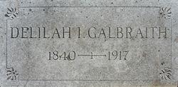 Delilah Isabel <i>Stansell</i> Galbraith