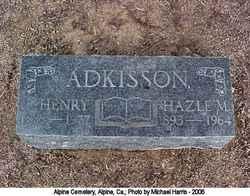 Hazel M Adkisson