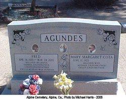 Mary Margaret <i>Cota</i> Agundes