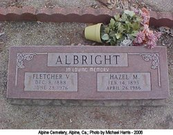 Hazel M Albright