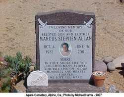 Marcus Stephen Allan