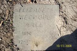 Elizabeth <i>Hegwood</i> Hall